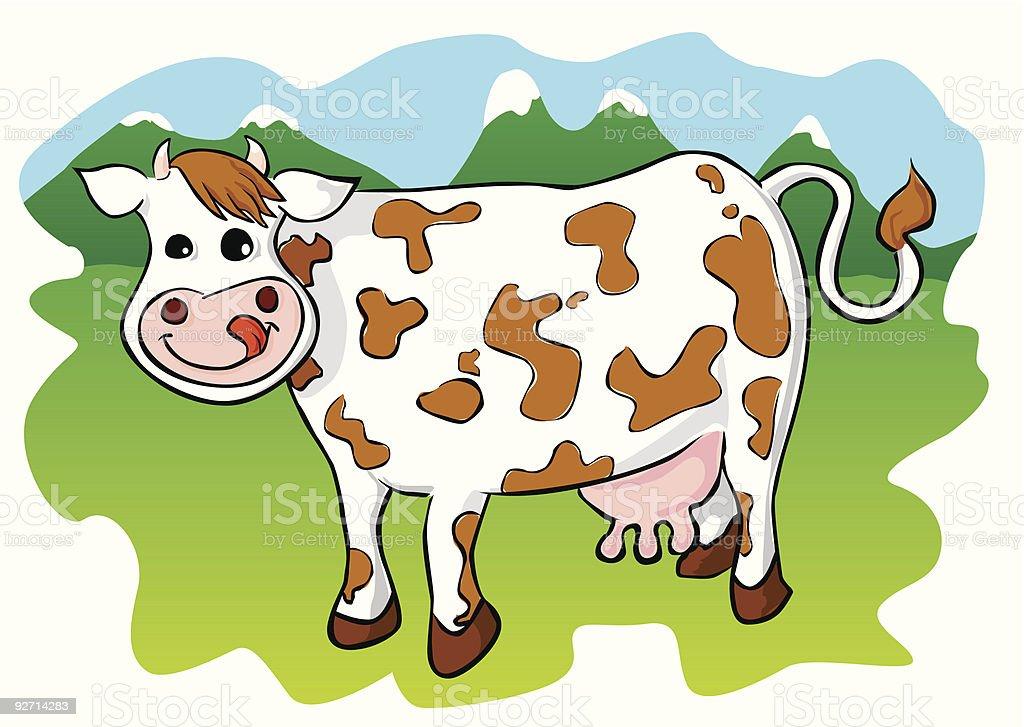 Cow Lizenzfreies cow stock vektor art und mehr bilder von agrarbetrieb