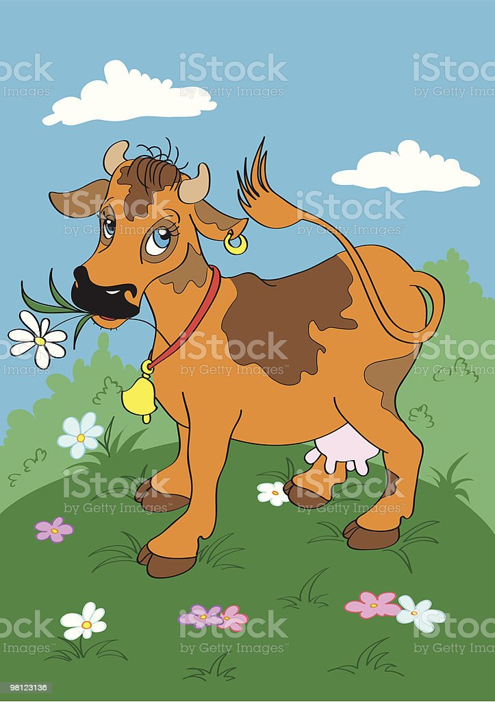 Cow royalty-free cow stock vector art & more images of animal