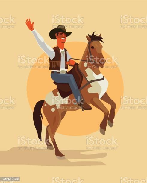 Cowboy character ride horse vector id652612688?b=1&k=6&m=652612688&s=612x612&h=pjqjo2eamr93fdcty70k86hrdp2q3umghhygh6ljkoc=