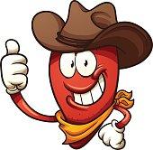 Cowboy chili pepper