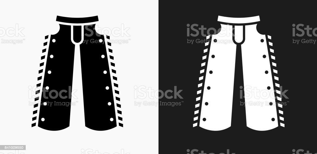 Icono de tela de vaquero en blanco y negro Vector fondos ilustración de  icono de tela 42fe6af7762