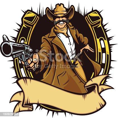 istock Cowboy Gunslinger I 150929053