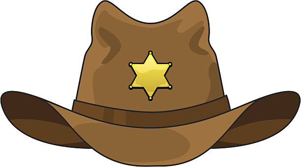 Cowboy Hat Clip Art, Vector Images & Illustrations - iStock