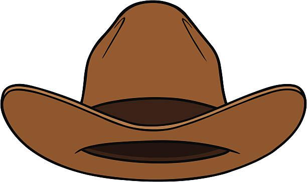 2bbd0e971b2 Cowboy Hat Front vector art illustration