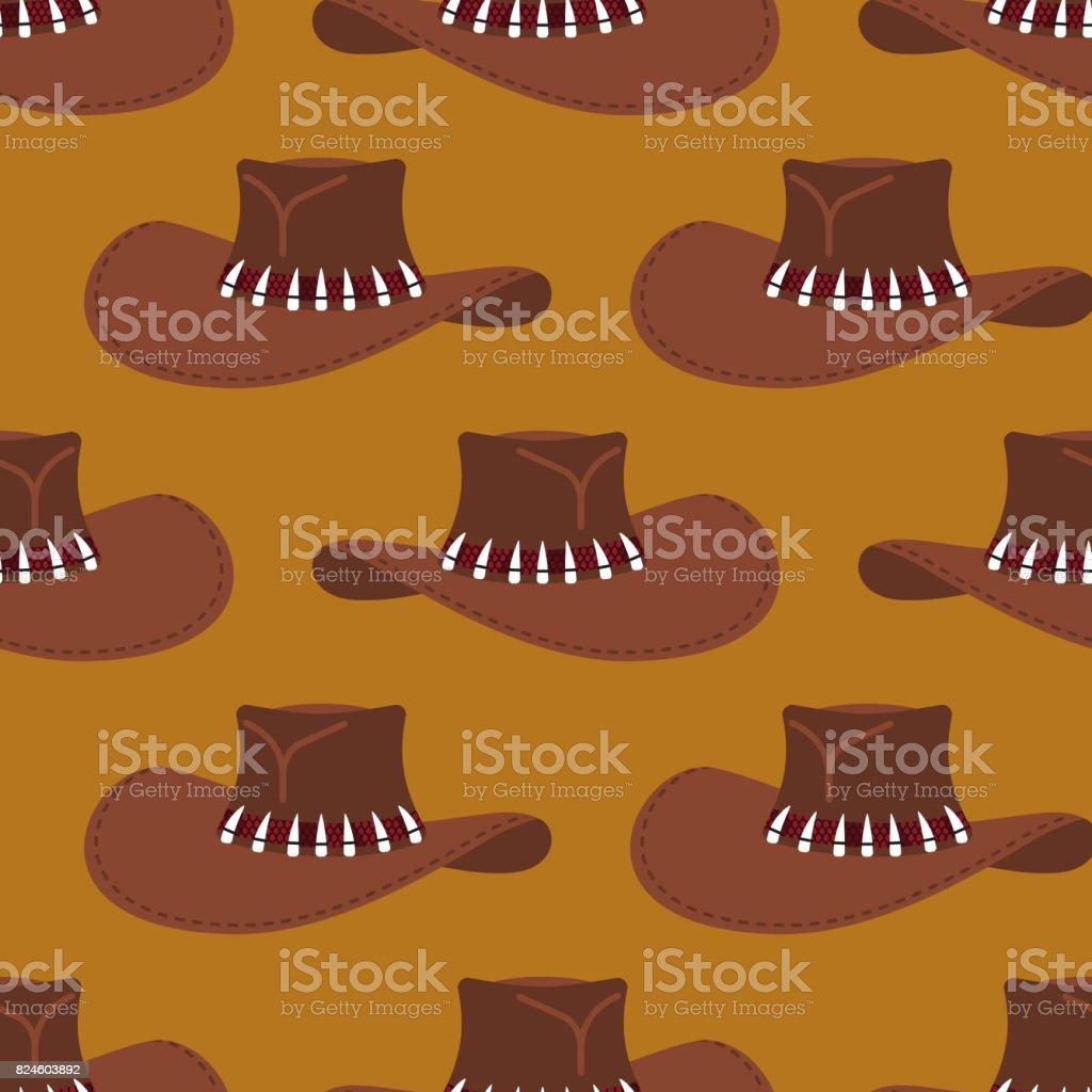 Modele De Chapeau De Cowboy Fond De Chapeau Australien Rodeo Et Vetements Occidentaux Vecteurs Libres De Droits Et Plus D Images Vectorielles De A La Mode Istock
