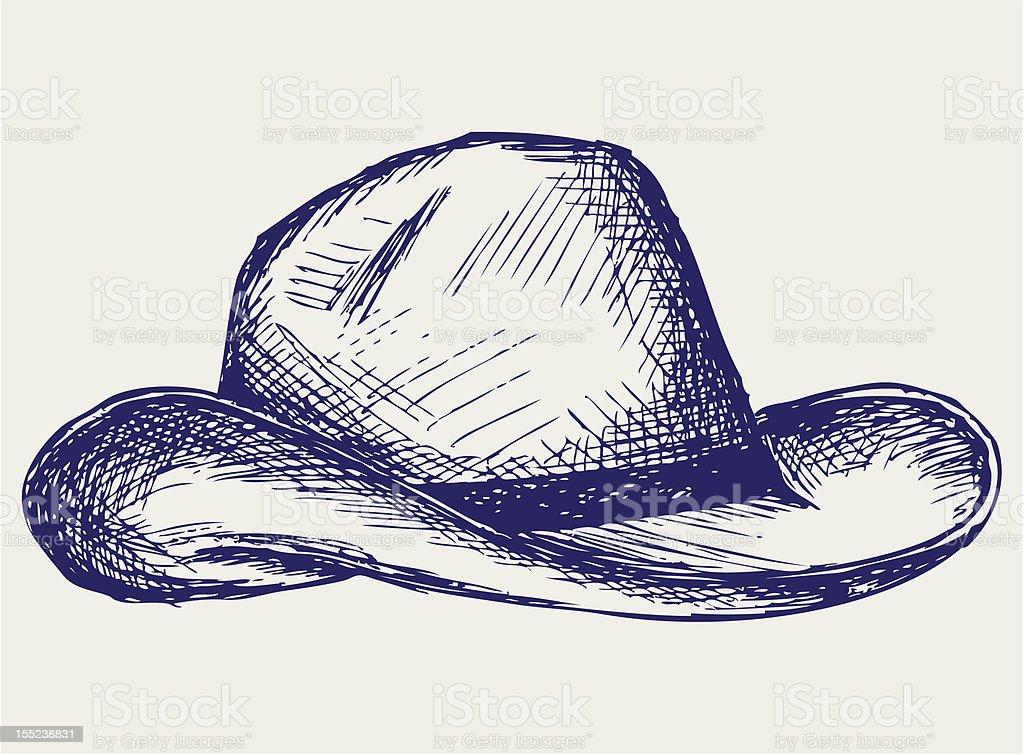 Ilustración de Sombrero De Vaquero y más banco de imágenes de ...