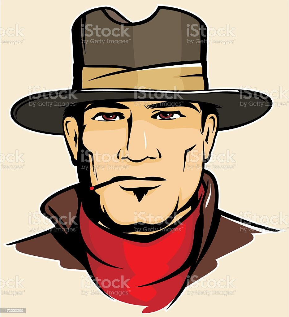 Cowboy royalty-free cowboy stock vector art & more images of adult