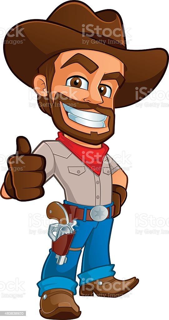 royalty free cowboy clip art vector images illustrations istock rh istockphoto com cowboy hat clipart images cowboy cartoon clipart images