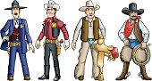 Cowboys of the Old West