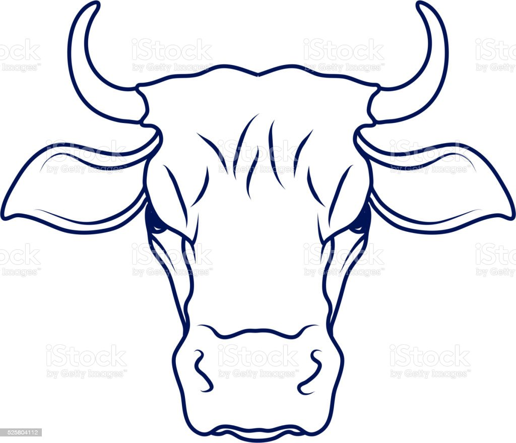 Uncategorized Cow Head Drawing cowcartoon cowcow drawingcow head vector illustration stock royalty free stock