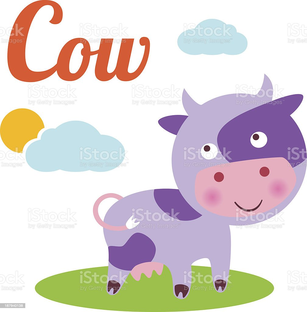 CowLetter royalty-free cowletter stock vector art & more images of alphabet