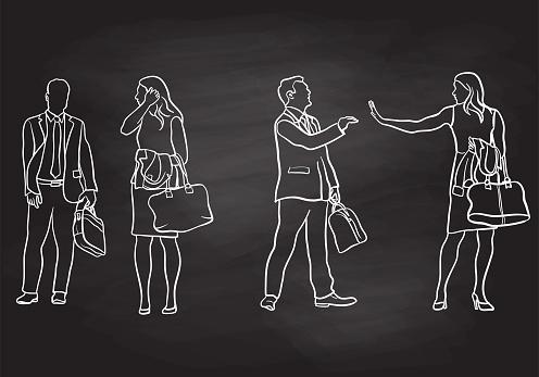 Coworkers Goodbye Chalkboard
