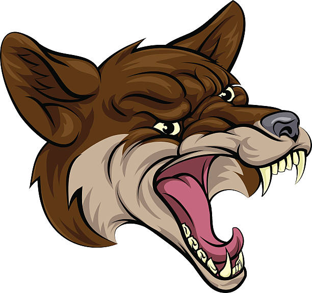 Royalty Free Coyote Clip Art, Vector Images ...