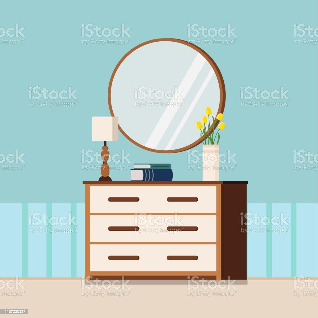 Terrific Cozy Home Spring Or Summer Interior Background Flat Cartoon Download Free Architecture Designs Fluibritishbridgeorg