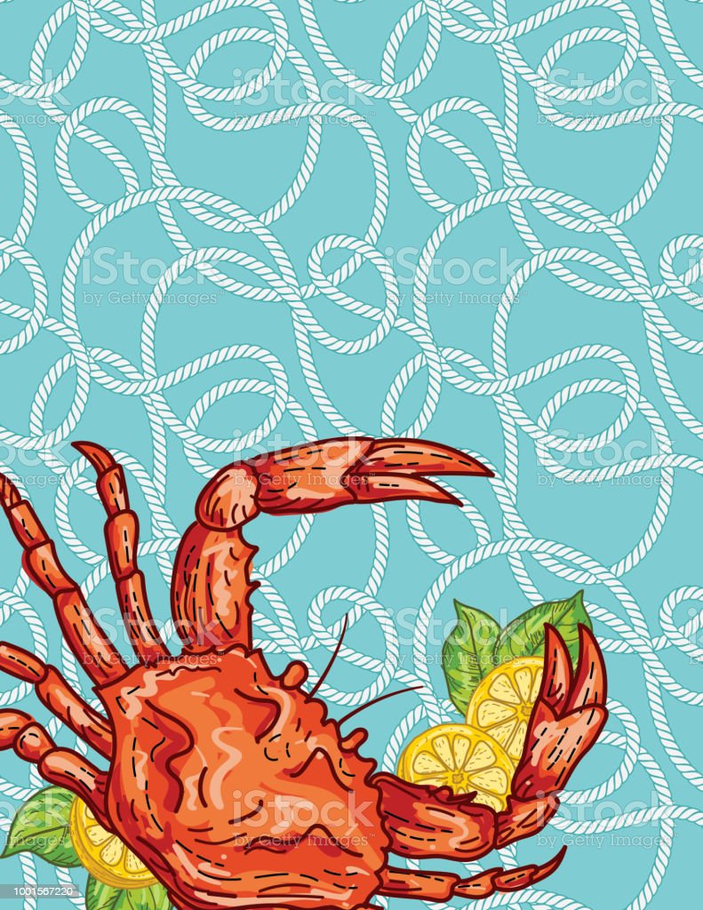 crab boil invitation template stock vector art more images of