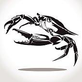 crab graphic