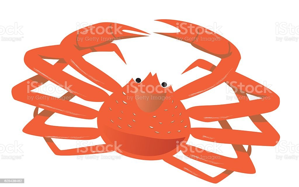 royalty free snow crab clip art vector images illustrations istock rh istockphoto com clip art crab pictures clip art crab cakes