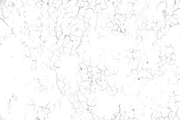 pęknięta betonowa faktura ściany - popękany stock illustrations