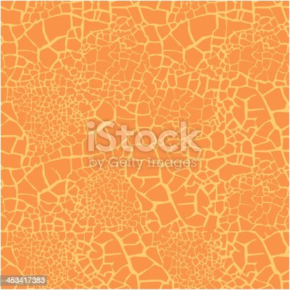 Cracked texture - seamless vector pattern