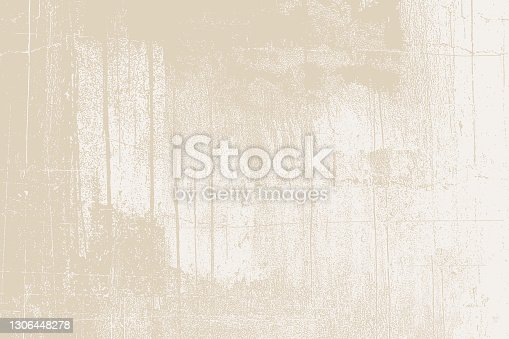 istock Cracked, weathered painted wall background 1306448278