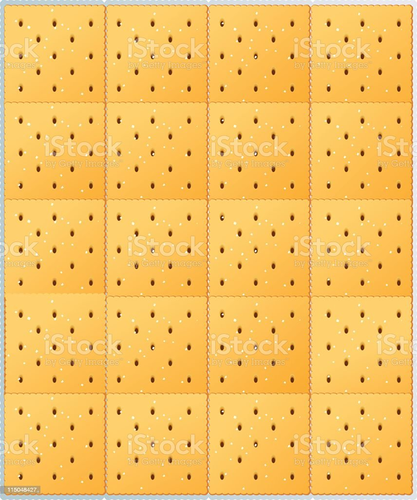 Crackers Background royalty-free crackers background stock vector art & more images of blank