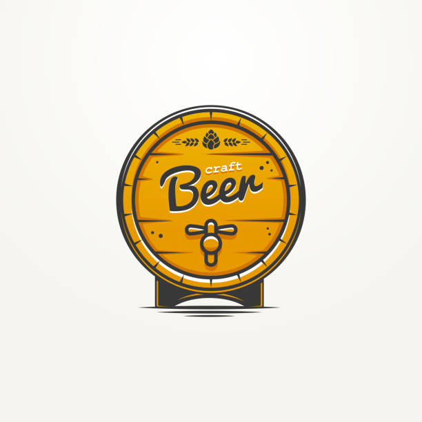 Craft Beer vector art illustration