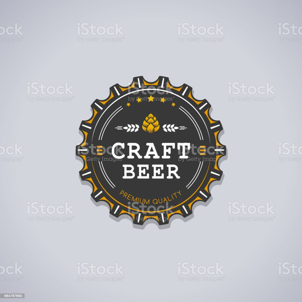 Craft Beer - illustrazione arte vettoriale