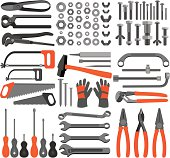 Craft icons – Hand tools (Set 4)