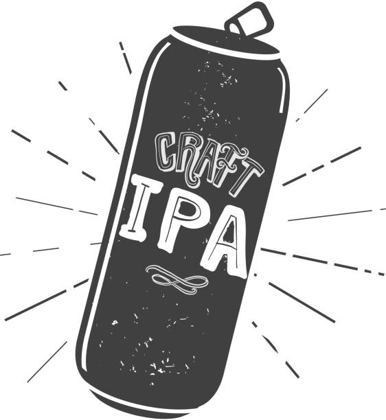 Tall Beer Can Silhouette Illustrations, Royalty-Free ...