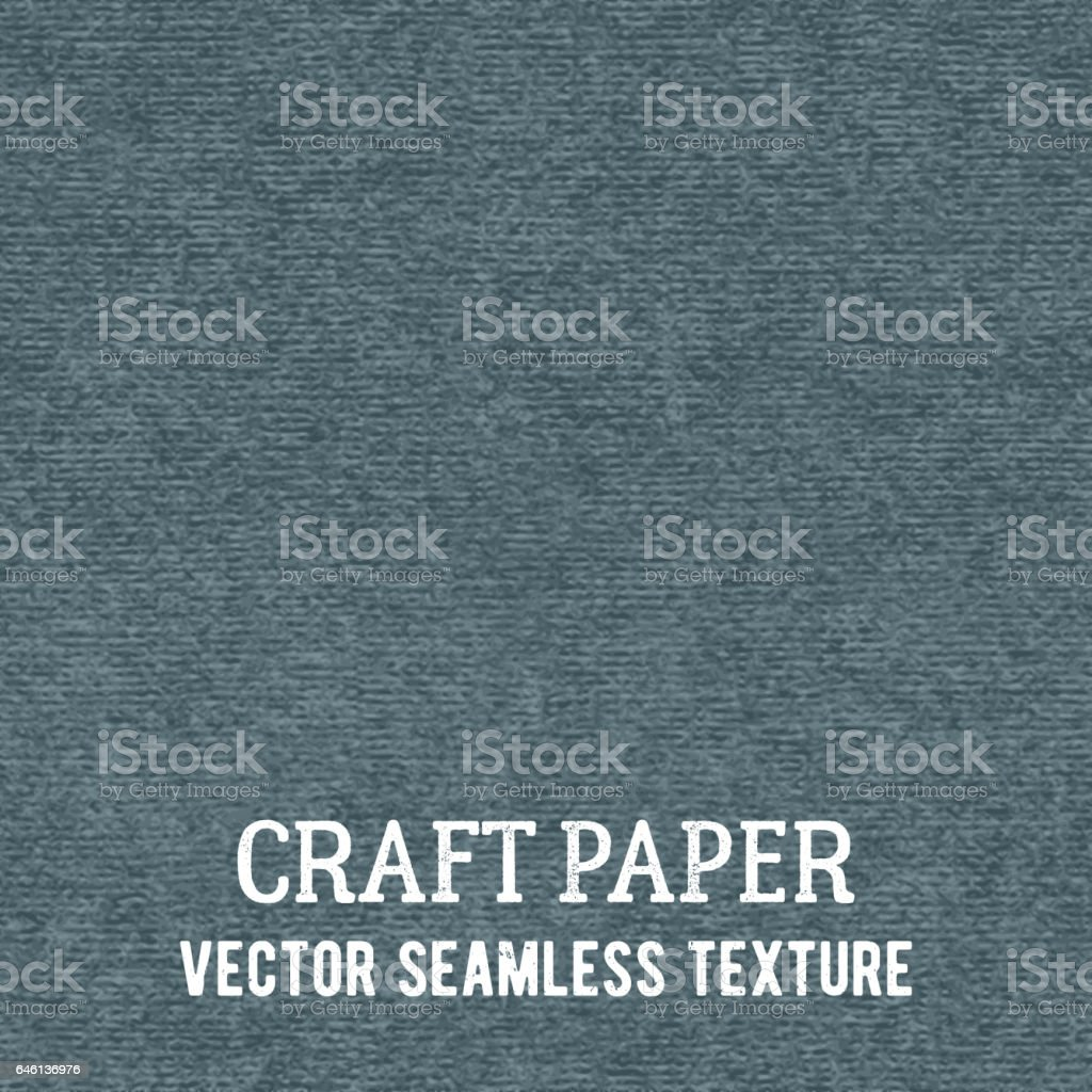 Craft paper seamless vector texture vector art illustration