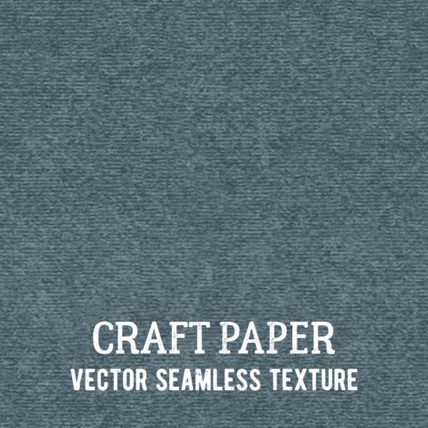 Craft paper seamless vector texture vector art illustration