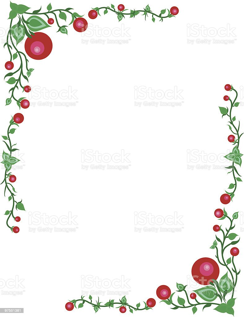 Cranberry border royalty-free cranberry border stock vector art & more images of at the edge of