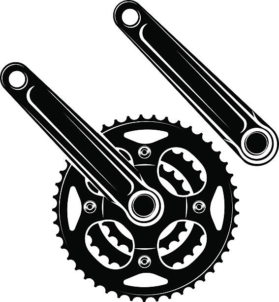Royalty Free Bicycle Gear Clip Art, Vector Images ...