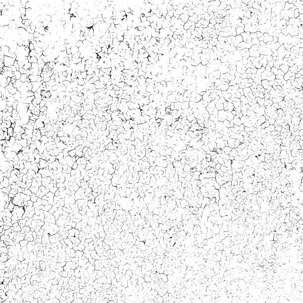 tekstura efektu craquelure - popękany stock illustrations