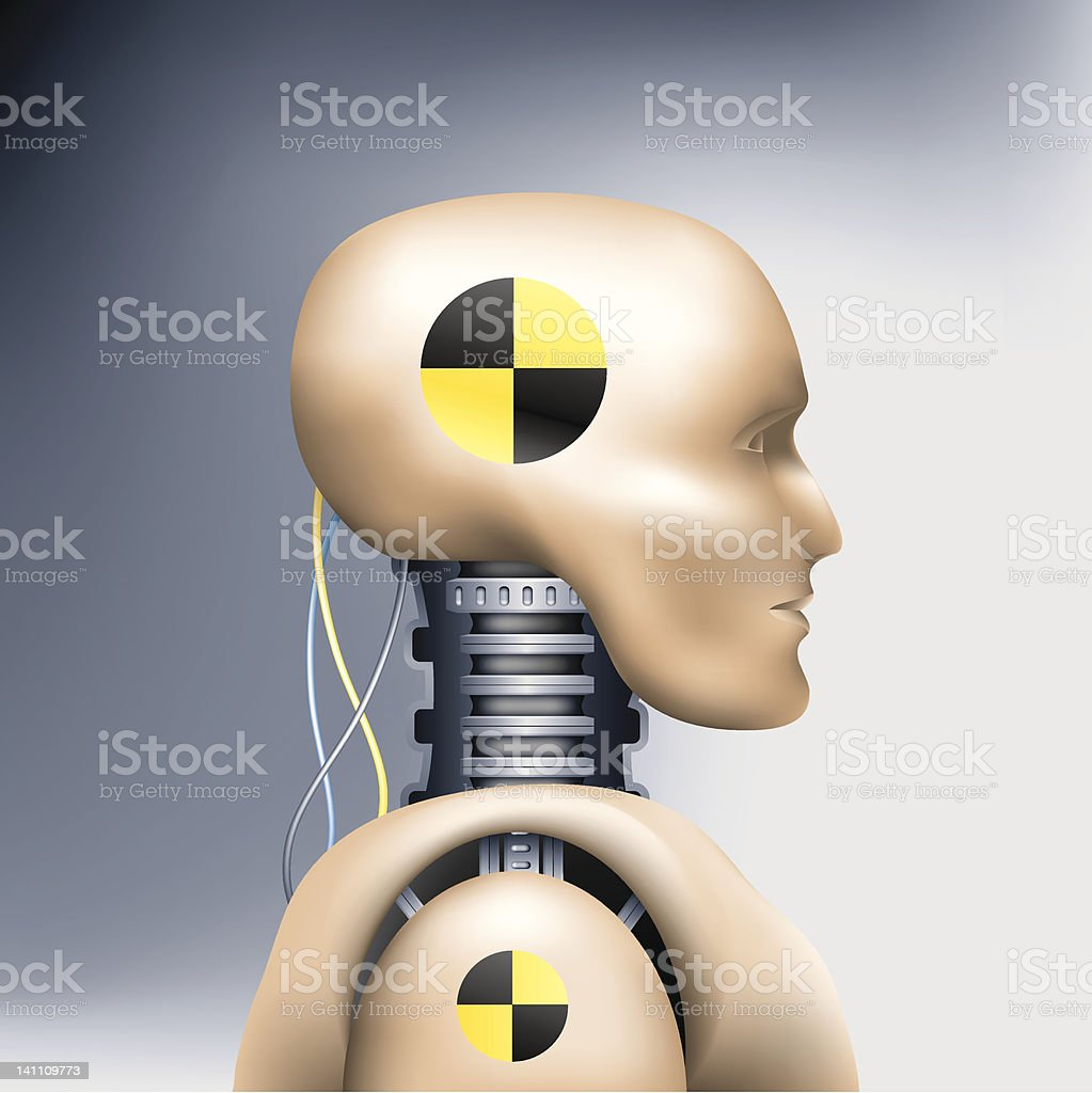 crash test dummy stock vector art amp more images of