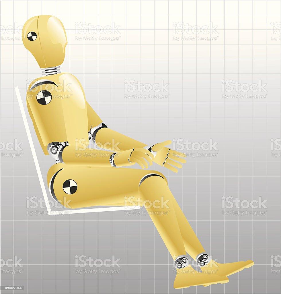 royalty free crash test dummies clip art vector images