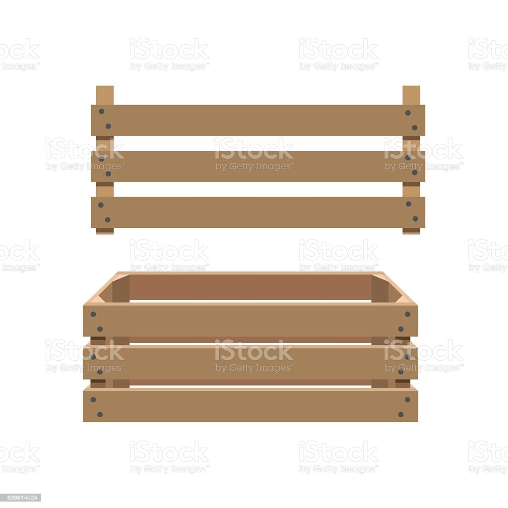 Crate royalty-free crate stock illustration - download image now
