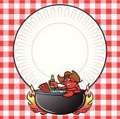 Crawfish Boil Invite