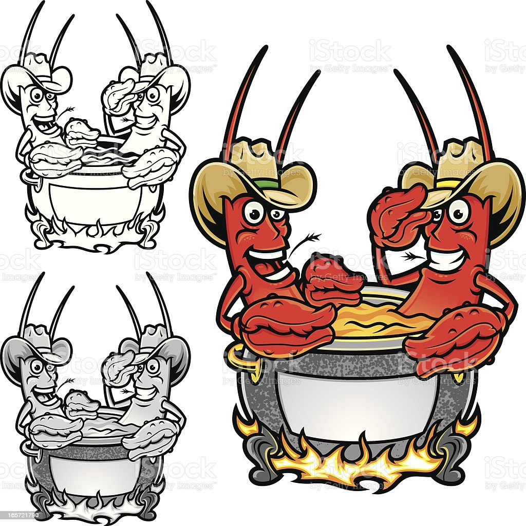 royalty free crawfish boil clip art vector images illustrations rh istockphoto com crawfish boil clip art free crawfish boil clip art free