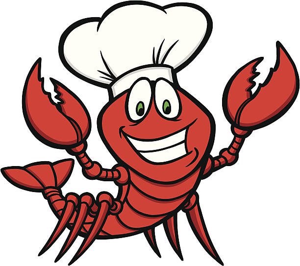 Crawfish Supper vector art illustration