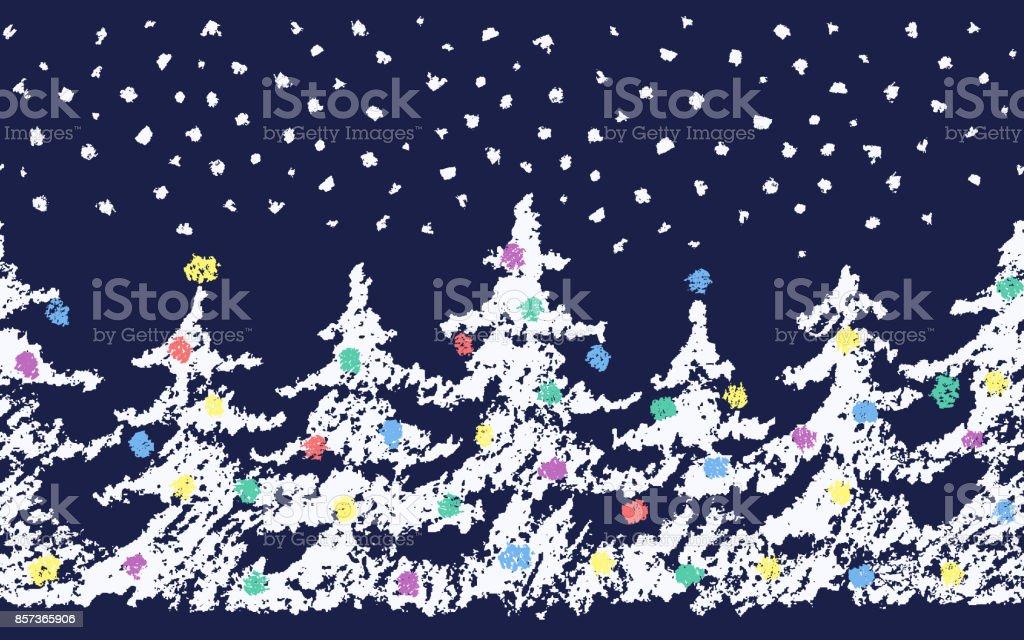Crayons A Dessiner Enfant Dessin Sapin De Noel Joyeux Motif Avec De
