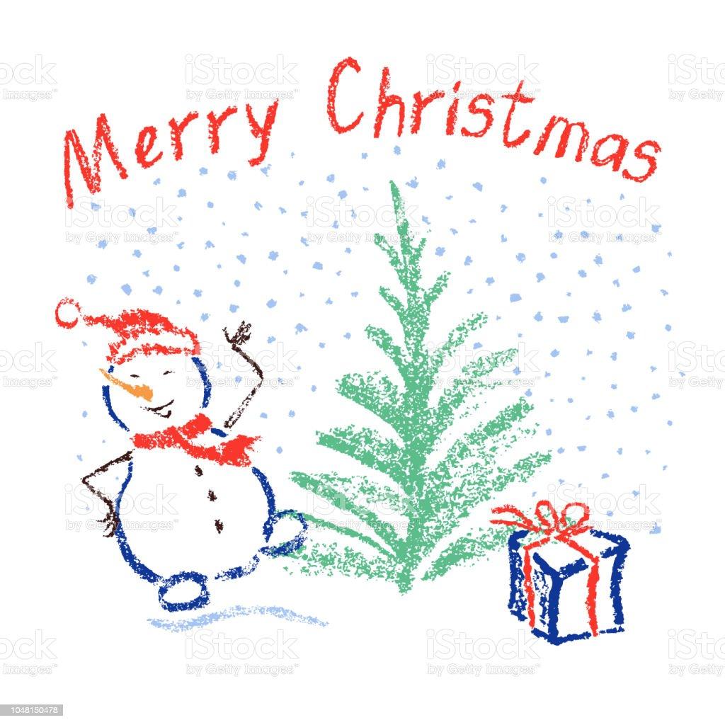 Bild Frohe Weihnachten Lustig.Kreide Wie Kind Frohe Weihnachten Lustig Lächeln Tanzenden