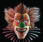 Crazy Clown Head