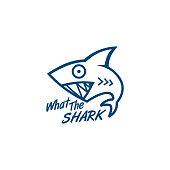 fun crazy Shark logo designs inspiration