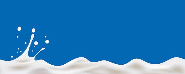cream yogurt wave background - milch stock-grafiken, -clipart, -cartoons und -symbole