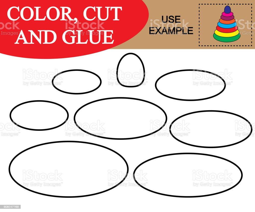 Erstellen Sie Das Abbild Des Babypyramide Arbeitsblatt Färben ...