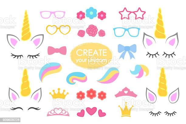 Create your own unicorn big vector collection unicorn constructor vector id939609228?b=1&k=6&m=939609228&s=612x612&h=efiymugakolvvhkopxdc6tmlsstzboqjy5rylvr5dom=