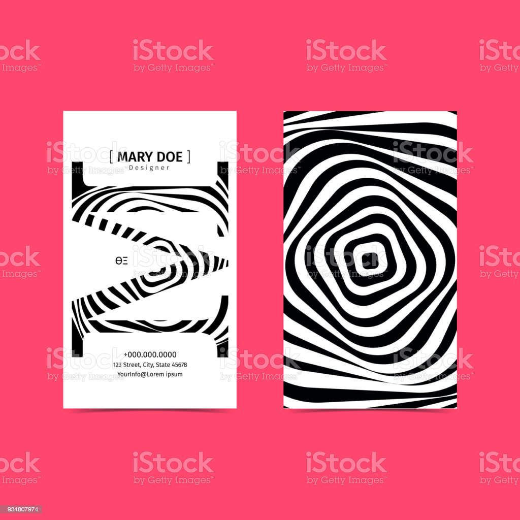 Creative 90x50 vertical business card template black and white creative 90x50 vertical business card template black and white colors font as illustration reheart Choice Image