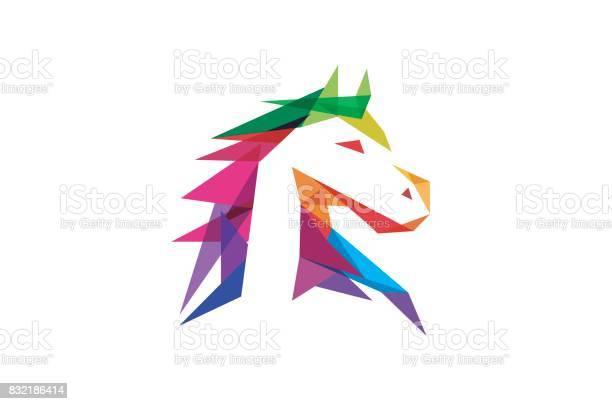 Creative abstract colorful horse head design symbol vector id832186414?b=1&k=6&m=832186414&s=612x612&h=lm9skhfs560d9om9bzd0f c j09fzdjzamgkqj74t8k=
