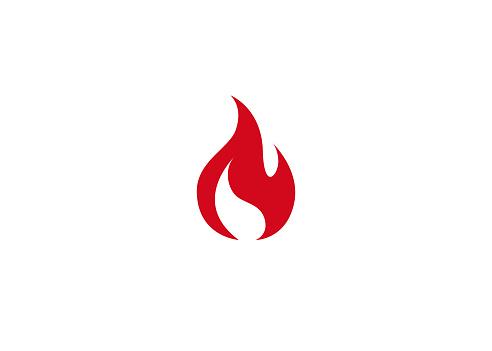 Creative Abstract Fire Logo